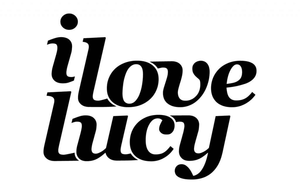 i love lucy, redesigned wordmark.